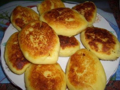 картофельные пирожки с мясом жареные рецепт с фото
