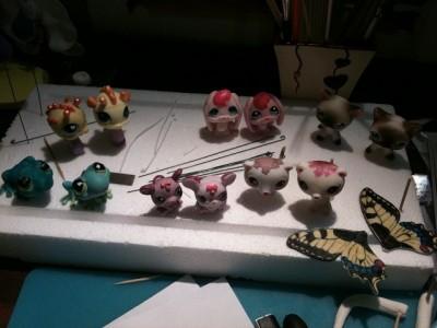 Торт ириски и кукурузные палочки фото 1