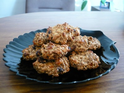 Овсяное печенье рецепт с курагой и черносливом