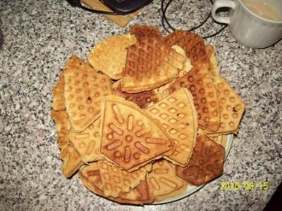 Печенье в сковороде как в детстве с фото