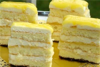 лимонное пирожное пошаговый рецепт фото