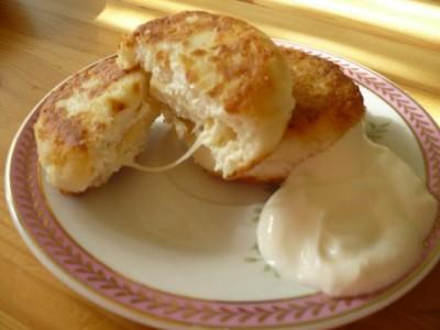 Творожные сырники с сыром рецепт
