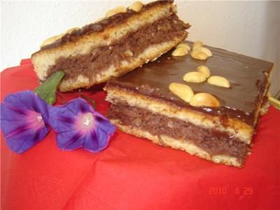 Нежный торт с безе фото 6