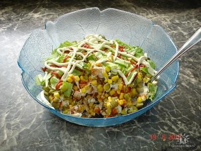 Очень простые салаты но вкусные