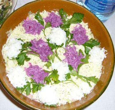 Ореховый салат как приготовить салат