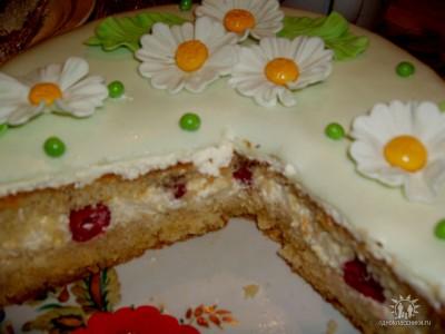 Рецепт торта с фото с мастикой