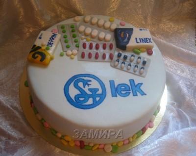 Тортики для фармацевтов фото