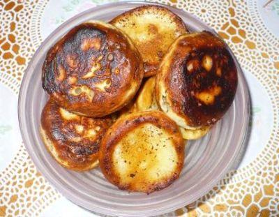 Рецепт оладьев на кефире одно яйцо