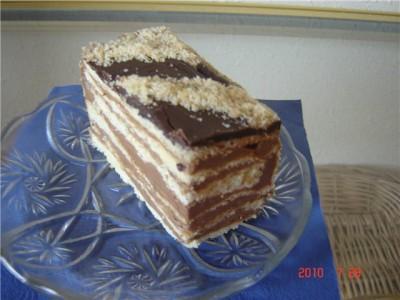 """Знаменитый венгерский торт """"Добыш"""""""
