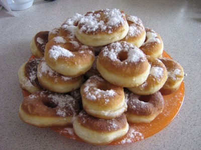 Рецепт пончиков с фото без начинки