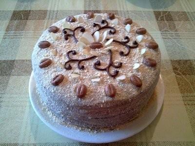 Наливной торт рецепт
