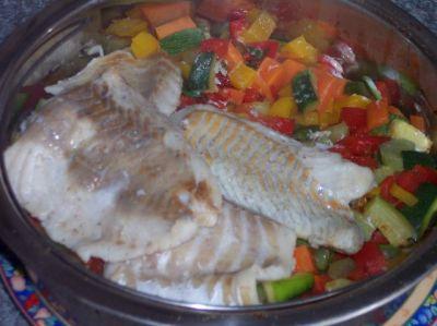 Рыба в скороварке рецепт