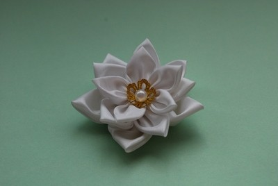 kanzashi of the circles