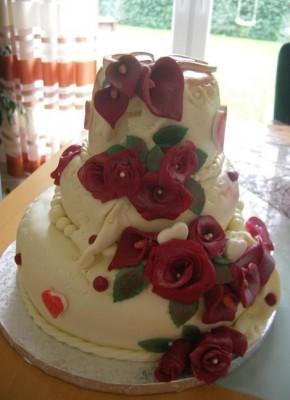 Тортик из мастики торты украшения