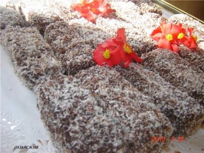 как приготовить медовые палочки в шоколаде