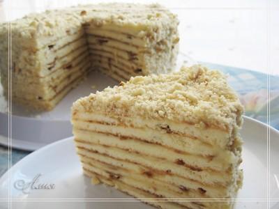 торт на сковородке рецепт
