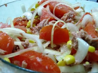 Рецепт салат с тунцом без майонеза