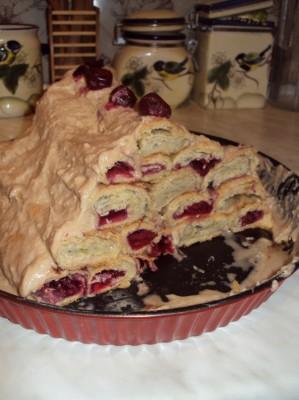Торт монастырская изба рецепт пошагово со сгущенкой