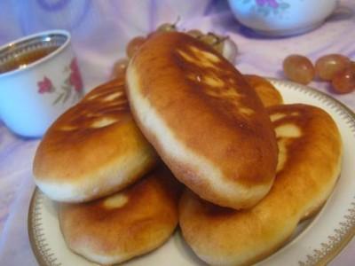 Пирожки из картошки с грибами в духовке рецепт с фото