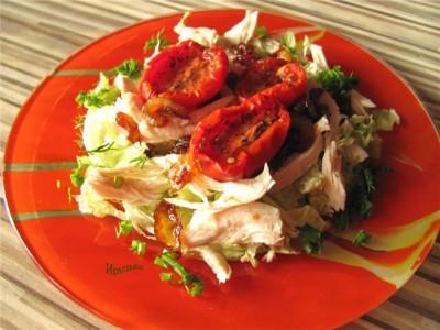 Блюда из вяленых помидор рецепт