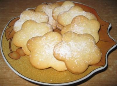 Выпечка бисквитные печенья 8