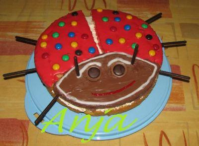 Детский торт из коржей своими руками 60