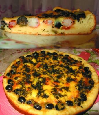как делать тесто для пиццы