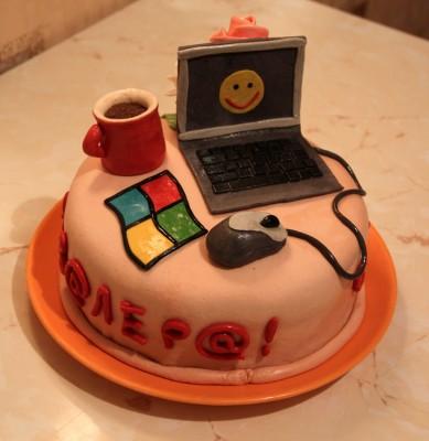 Анимация лицом в торт торт малютка