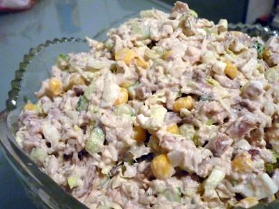 Рецепты салатов с лапшой быстрого приготовления с фото