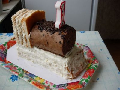 Торт паровозик своими руками из крема пошагово 49