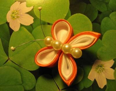 Цветы канзаши картинки 6
