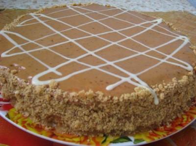 арахисовый торт рецепт