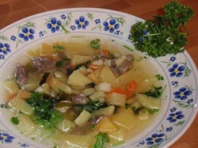 Супы с косточками рецепты