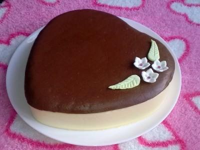 Торт с розой медовый торт со сметаной