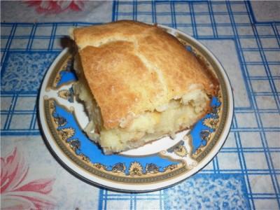 Тесто на пирог густоты сметаны