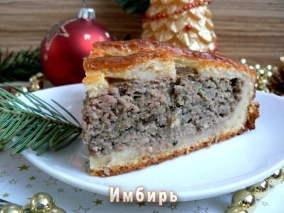 Мясных пироги рецепты простые 47