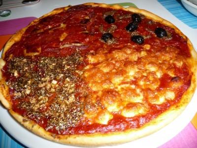 пицца 4 времени года