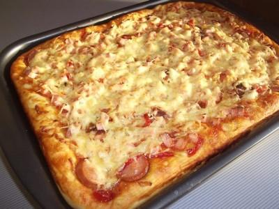 Пицца рецепт на воде
