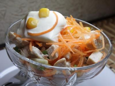 Салат смайлик 10