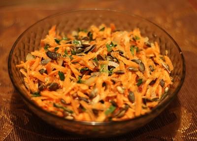 Морковный салат рецепт с фото