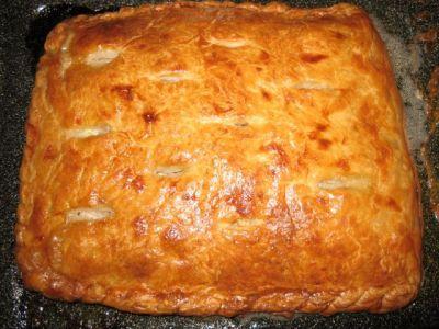 Слоеное тесто курник рецепт