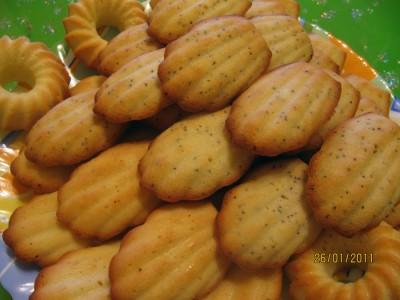 печенье мадлен без формочек рецепт с фото