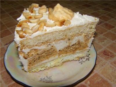 торт несложный но вкусный рецепт с фото