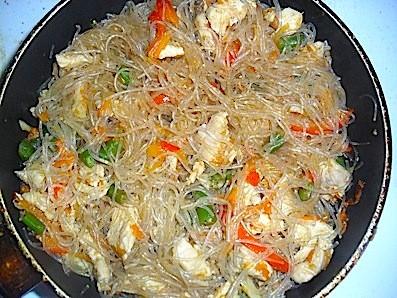 рисовая лапша рецепт с фото