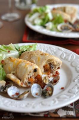 рецепт салат с крабовым мясом и грибами в