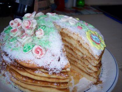 Трехъярусного торта с мастикой