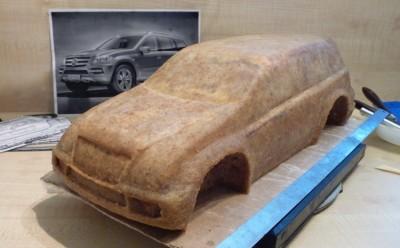 торт из мастики машина фото