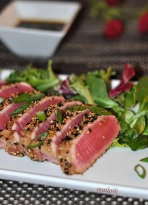 Блюда из филе тунца
