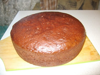 Высокий бисквит для торта рецепт с фото
