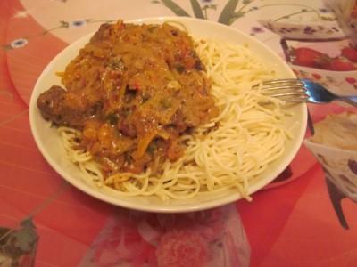 Телятина в соусе: Вторые блюда